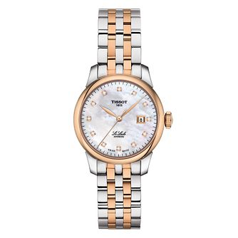 Tissot Le Locle Ladies' Two Tone Bracelet Watch - Product number 4579224