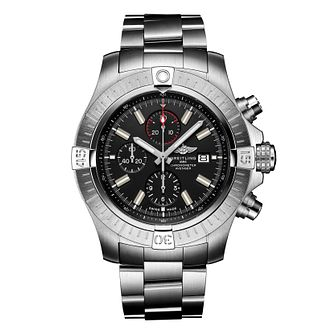Breitling Super Avenger Men's Stainless Steel Bracelet Watch - Product number 4579380