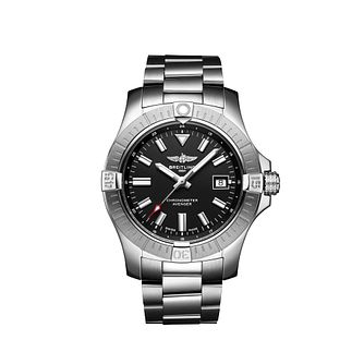 Breitling Avenger Automatic Men's Black Dial Bracelet Watch - Product number 4579690