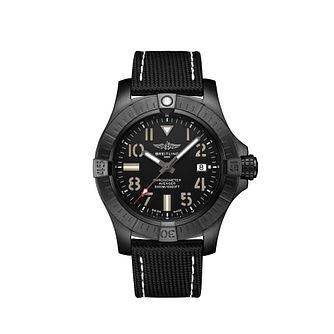 Breitling Avenger Seawolf Night Mission Leather Strap Watch - Product number 4580079