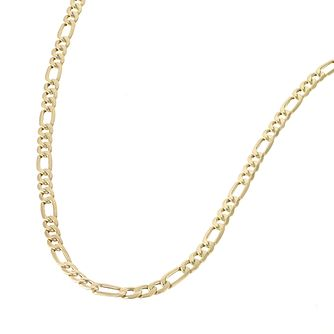 9ct Yellow Gold 20 inches Figaro Link Necklace - Product number 4584945
