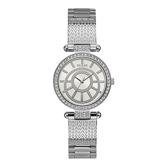Guess Ladies' Crystal Dial Stainless Steel Bracelet Watch - Product number 4585585