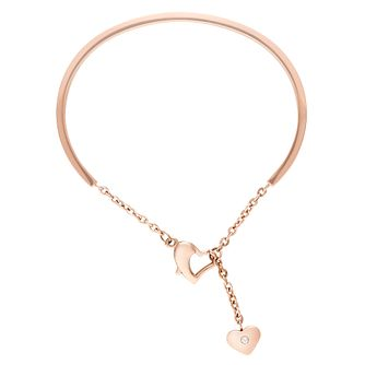 Buckley London Crystal Heart Bangle - Product number 4586425
