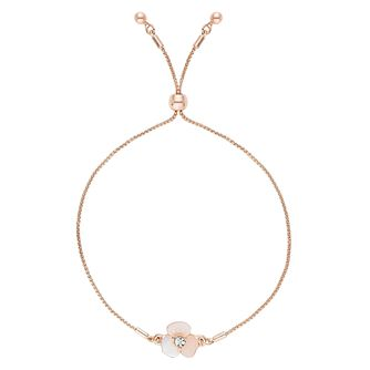 Buckley London Mother Of Pearl Flower Friendship Bracelet - Product number 4586786