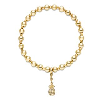 Buckley London Pineapple Charm Beaded Bracelet - Product number 4586794