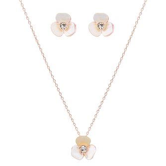 Buckley London Mother Of Pearl Flower Gift Set - Product number 4586859