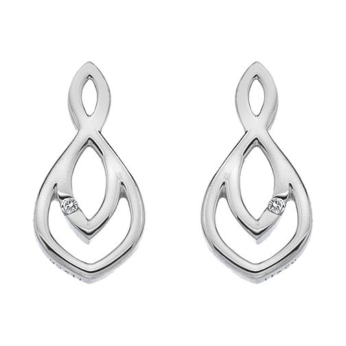 Hot Diamonds Sterling Silver Harmony Stud Earrings - Product number 4587073