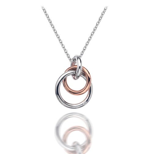 Hot Diamonds Sterling Silver & Gold Tone Eternal Pendant - Product number 4587278