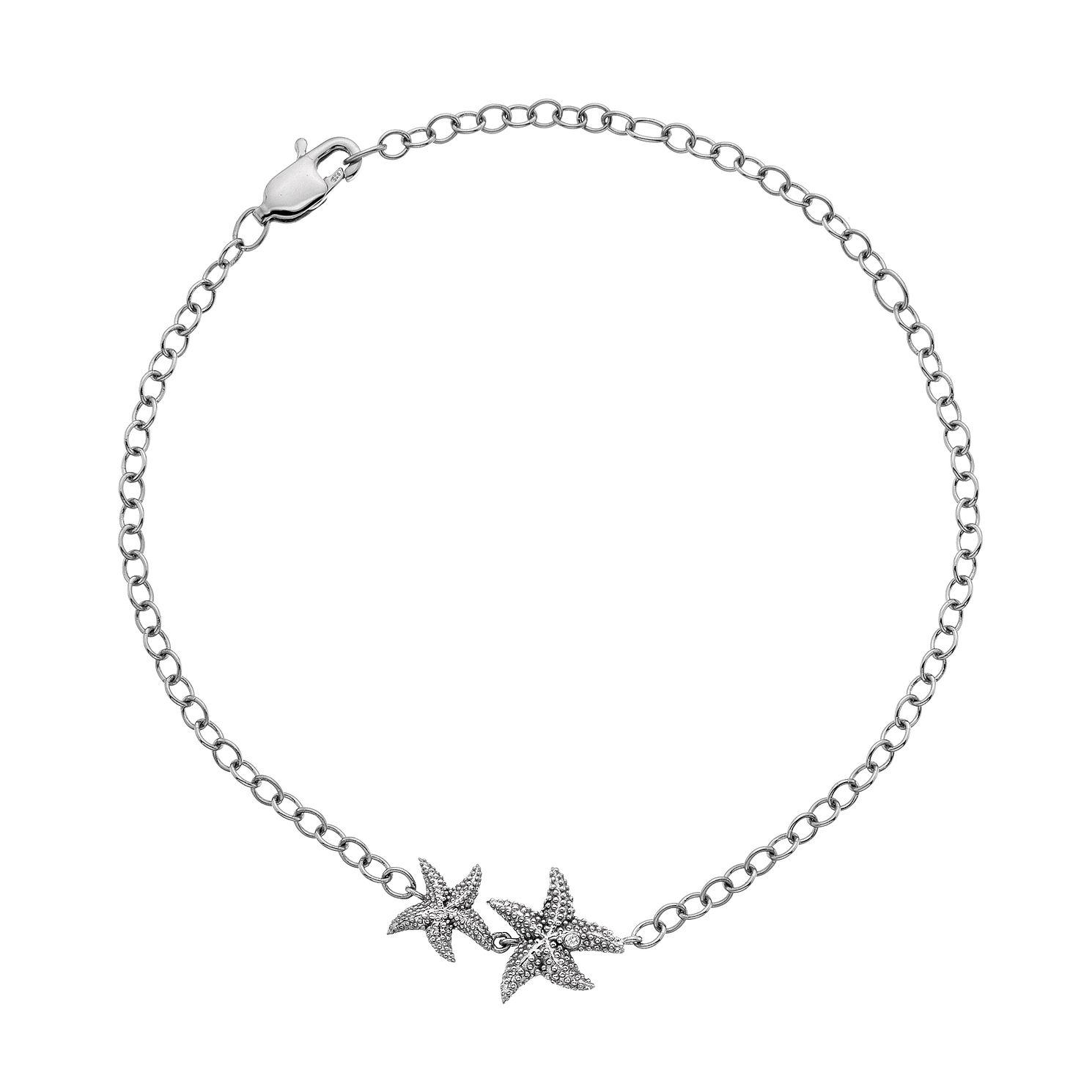 Hot Diamonds Sterling Silver Starfish Bracelet - Product number 4587405