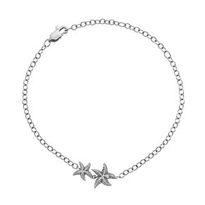 Hot Diamonds Sterling Silver Starfish Stud Earrings - Product number 4587057