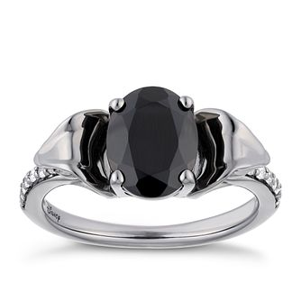 Enchanted Disney Fine Jewelry Jafar Onyx & Diamond Ring - Product number 4589106