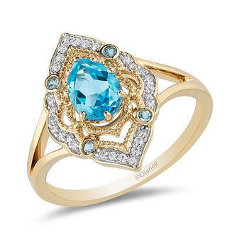 "Enchanted Disney Diamond Ring Inspired by ""Disney Aladdin"" - Product number 4590104"