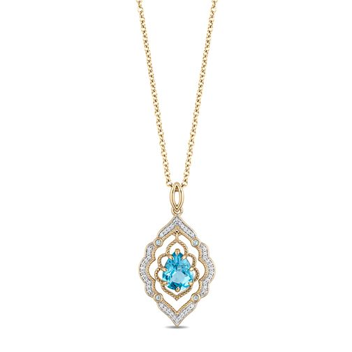 Enchanted Disney Fine Jewelry Diamond Aladdin Pendant - Product number 4591070