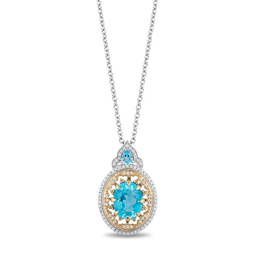Enchanted Disney Fine Jewelry Diamond Aladdin Pendant - Product number 4591097