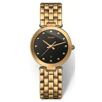 Rado Florence Ladies' Yellow Gold Plated Bracelet Watch - Product number 4595815