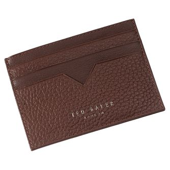 Ted Baker Hunkee Men's Tan Leather Cardholder - Product number 4600002