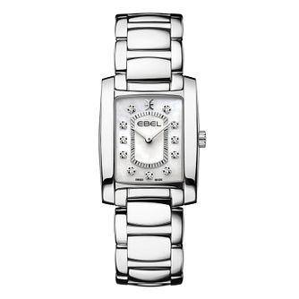 Ebel Brasilia Diamond Ladies' Stainless Steel Bracelet Watch - Product number 4601092