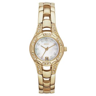 Relic Ladies' Stone Set Gold-Plated Bracelet Watch - Product number 4607929
