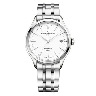 Baume & Mercier Clifton Baumatic Men's Bracelet Watch - Product number 4609883