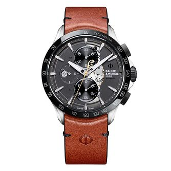 Baume & Mercier Limited Clifton Club Scout Men's Strap Watch - Product number 4609913