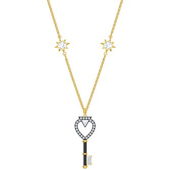 Swarovski Blue Tarot Magic Gold Tone Charm Pendant - Product number 4615654