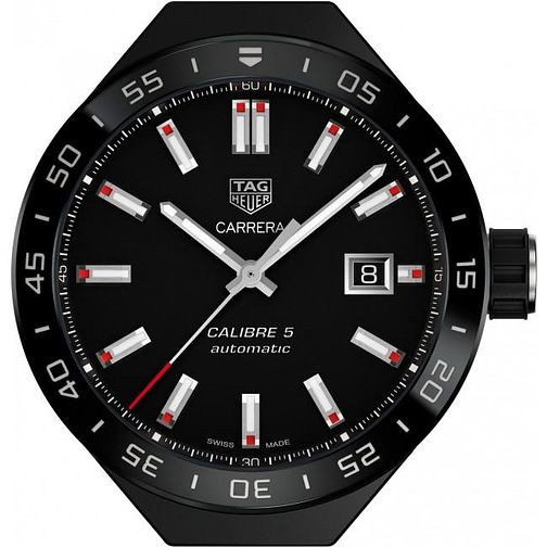 TAG Heuer Connected Modular 41 Black Titanium Watch Head - Product number 4616596