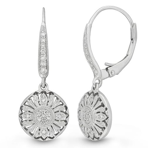 Neil Lane Designs 0.15ct Vintage Diamond Earrings - Product number 4617827