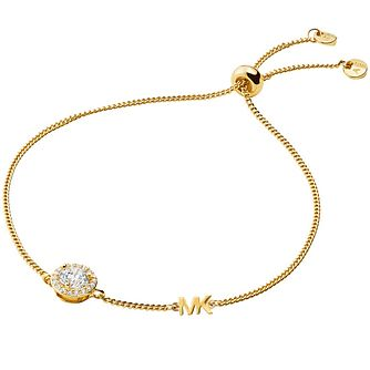 Michael Kors Custom Kors Yellow Gold Plated Bracelet - Product number 4618440