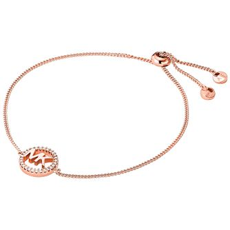 Michael Kors Love Rose Gold Tone Cubic Zirconia Bracelet - Product number 4618610