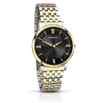 Sekonda Men's Two Tone Bracelet Watch - Product number 4618920