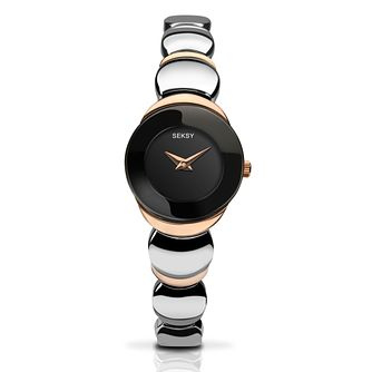 5bbe82283 Seksy Ladies' Two Tone Bracelet Watch - Product number 4618963