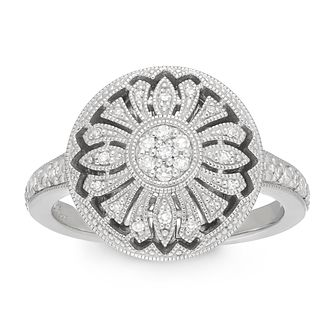 Neil Lane Designs Silver 0.15ct Diamond Ring - Product number 4620356