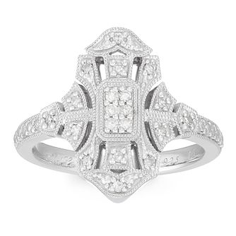 Neil Lane 0.15ct Total Diamond Vintage Ring - Product number 4621379