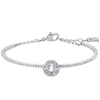 Swarovski Sparkling Dance Rhodium Plated Bangle - Product number 4621646
