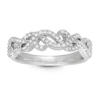 Neil Lane Designs 0.15ct Diamond Twist Ring - Product number 4623045