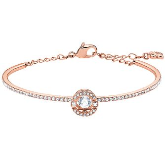 Swarovski Sparkling Dance Rose Gold Plated Bangle - Product number 4624815