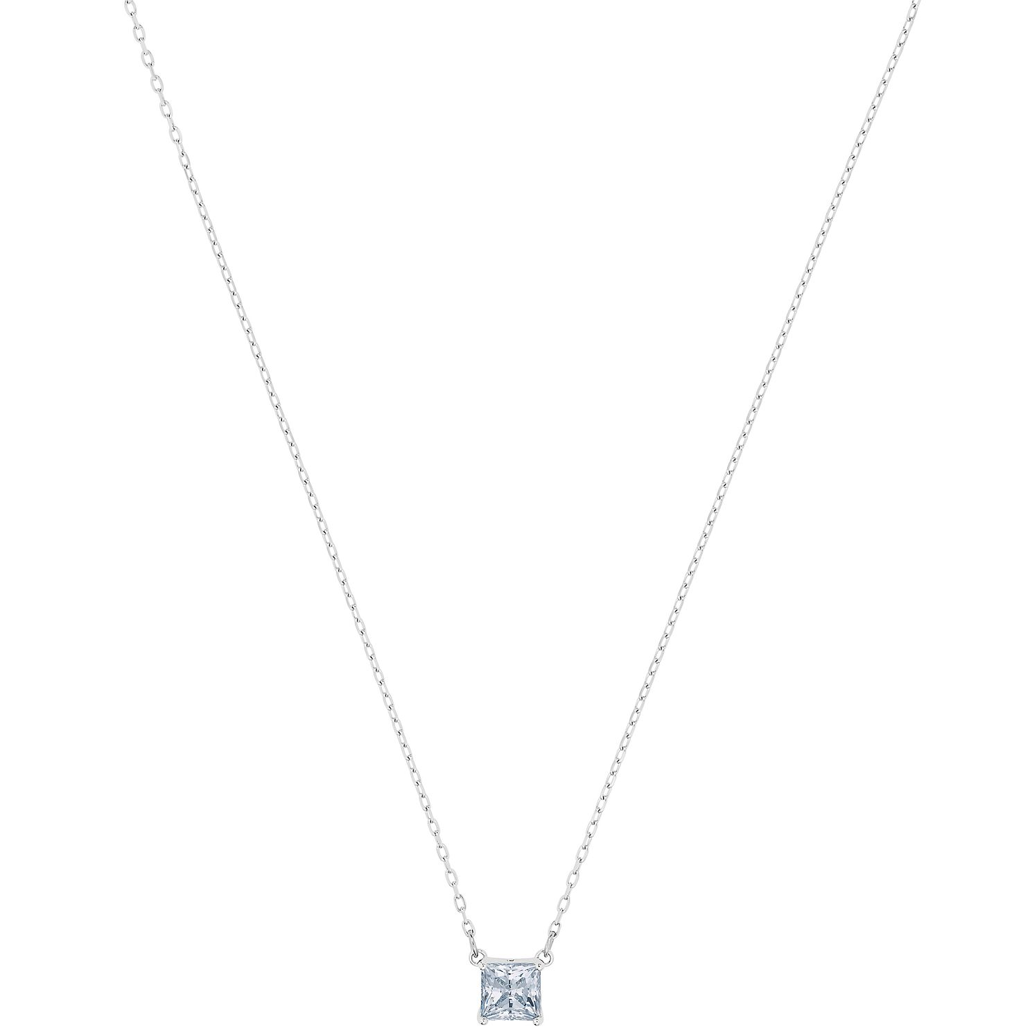 Swarovski Attract Rhodium Plated Necklace - Product number 4624823