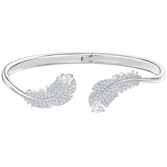Swarovski Nice Rhodium Plated Bangle - Product number 4624831