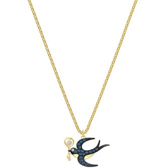 Swarovski Blue Tarot Magic Gold Tone Charm Pendant - Product number 4624971