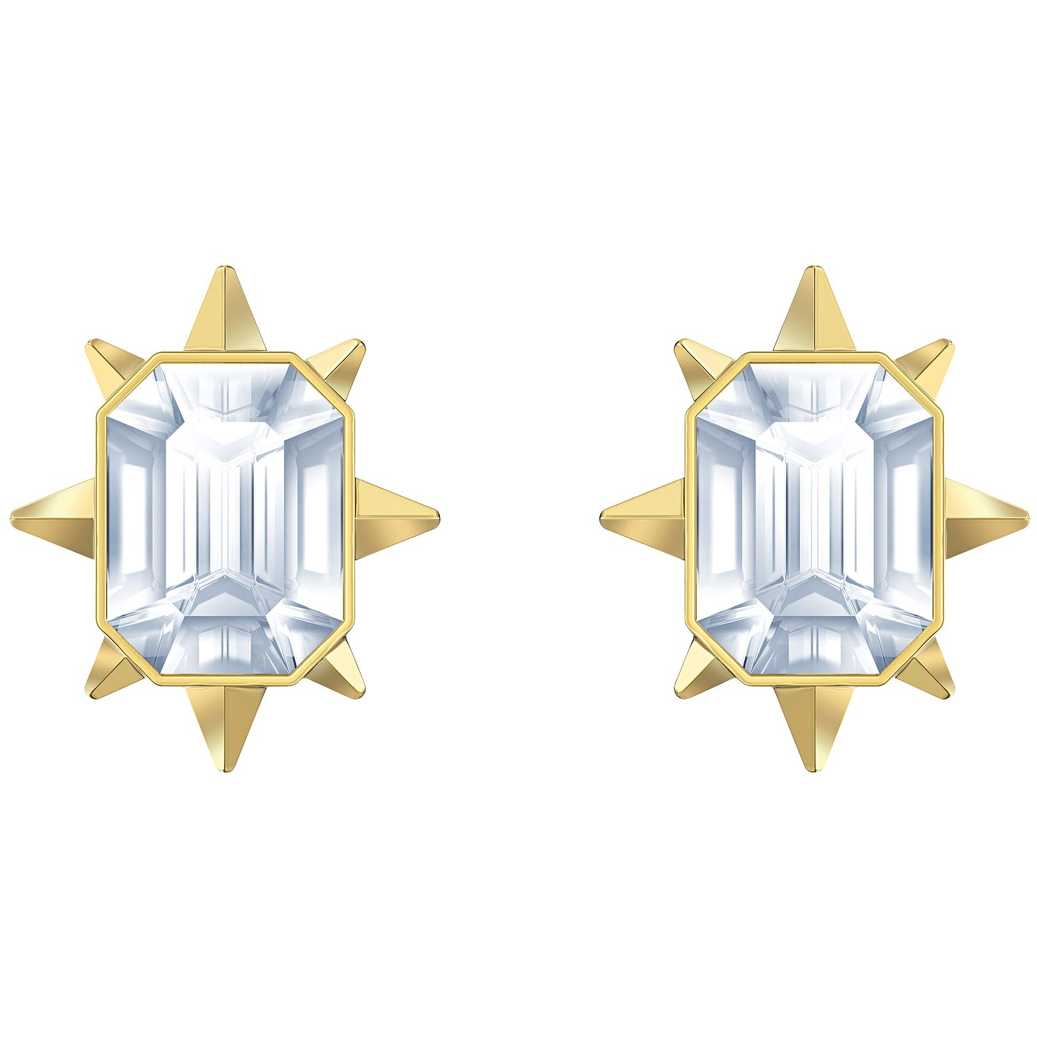 Swarovski Tarot Magic Gold Tone Stud Earrings - Product number 4624998