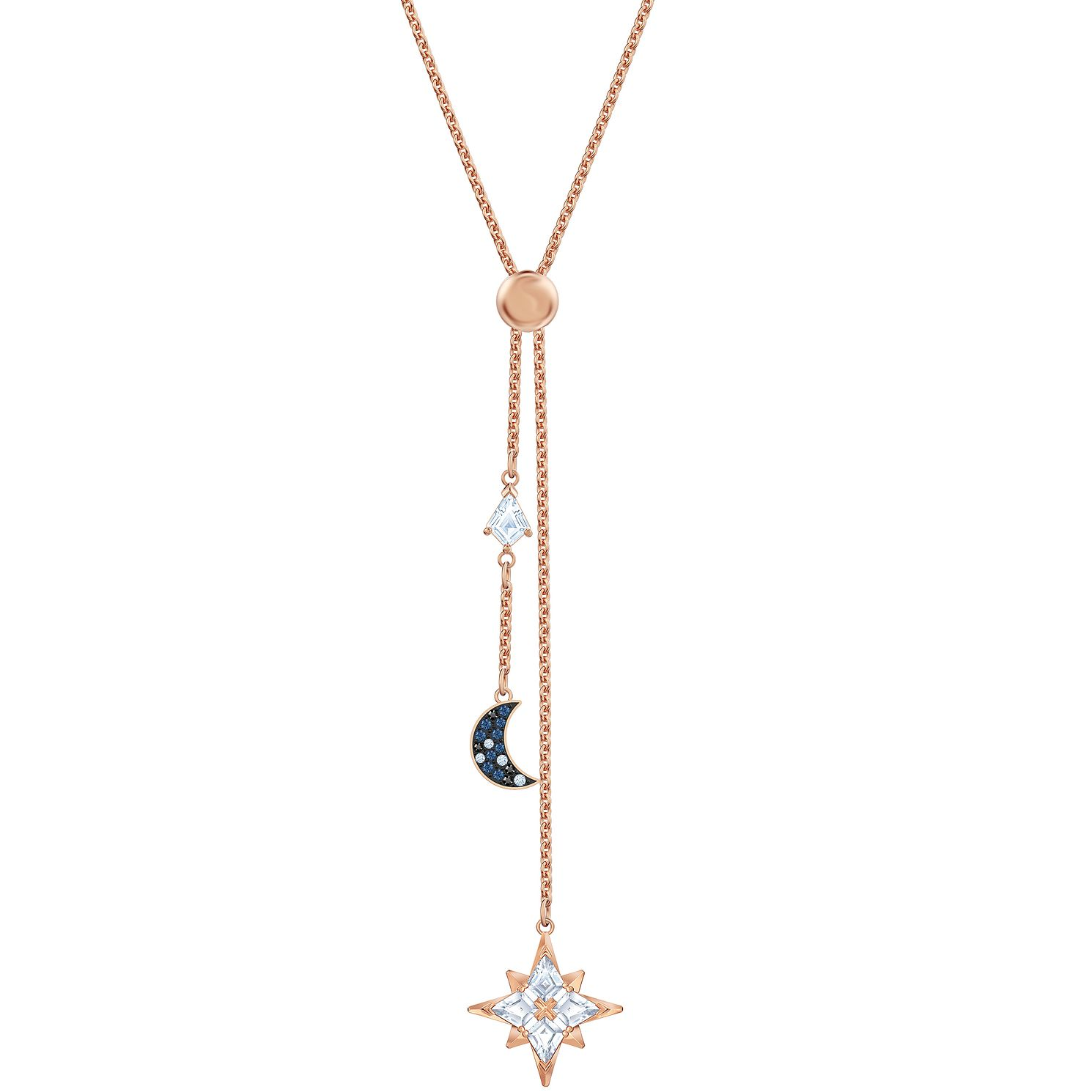 Swarovski Symbolic Moon & Star Gold Tone Y Necklace - Product number 4625005