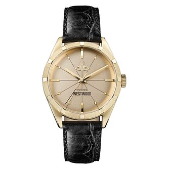 Vivienne Westwood Conduit Men's Yellow Gold Plated Watch - Product number 4631420