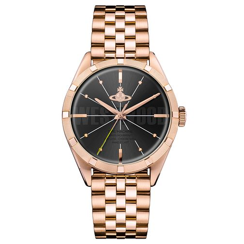 Vivienne Westwood Conduit Ladies' Rose Gold Plated Watch - Product number 4631447
