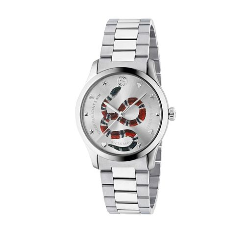 Gucci G-Timeless Unisex Snake Bracelet Watch - Product number 4639766