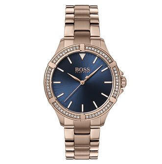 BOSS Mini Sport Ladies' Rose Gold Tone Bracelet Watch - Product number 4653661