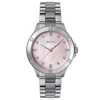 BOSS Mini Sport Ladies' Stainless Steel Bracelet Watch - Product number 4653688