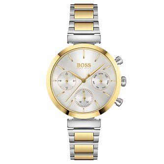 BOSS Flawless Ladies' Two Tone Bracelet Watch - Product number 4653769