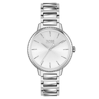 BOSS Signature Ladies' Stainless Steel Bracelet Watch - Product number 4653777