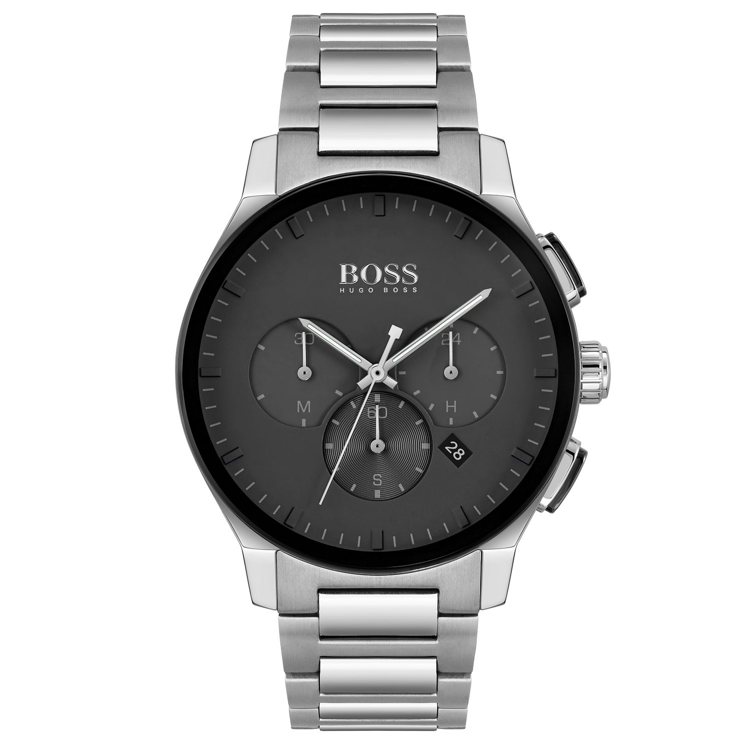 BOSS Peak Chronograph Men's Stainless Steel Bracelet Watch - Product number 4660161