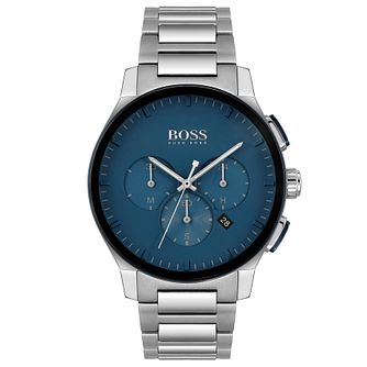 BOSS Peak Chronograph Men's Stainless Steel Bracelet Watch - Product number 4662245